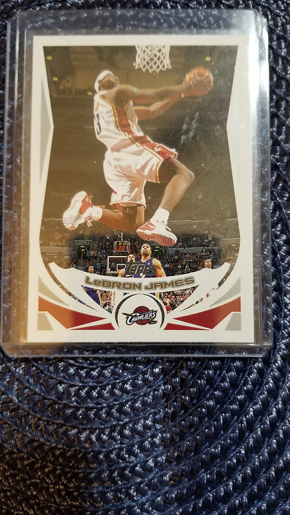 2004-05 Topps LeBron James 2nd Year Card