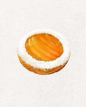 булочка с заварным кремом и персиком.jpg