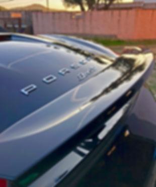 Lustrage Cirage Porsche