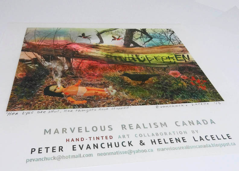 Peter Evanchuck & Helene Lacelle 'MARVELOUS REALISM' artwork goes to the TATE EXCHANGE LIVERPOOLE