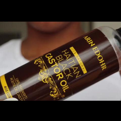 4 Ways To Use Arin Edohr 100% Natural Haitian Black Castor Oil