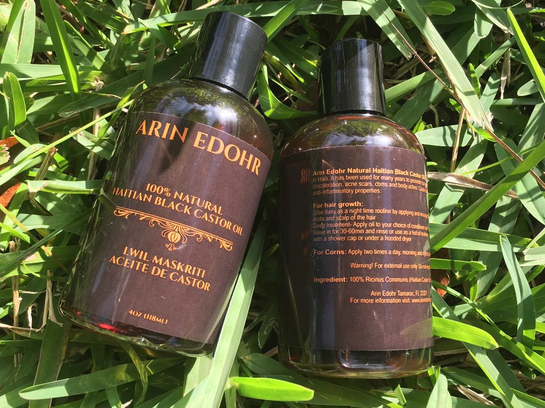 How To Use Arin Edohr 100% Natural Haitian Castor Oil: Step