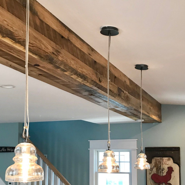 Reclaimed Wood Ceiling Accent