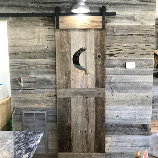 One-of-a-kind Moon Door