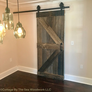 Reclaimed Barn Door