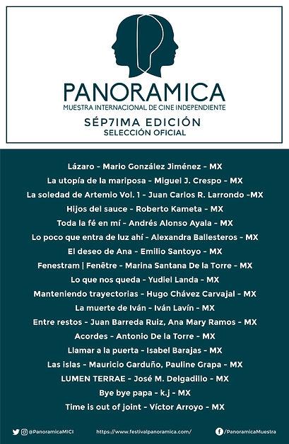 cartel seleccionados panoramica 2020 DEF