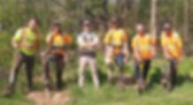 Bartram Woodlands treeplant crew