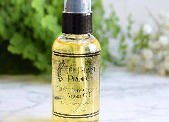 100% Pure Organic Argan Oil