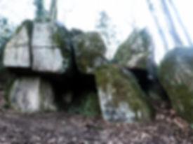 La Pierre Qui Fume, megalithic site, Le Chatelier, Brittany, France