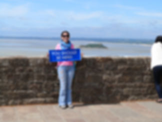It's In You retreat, at the Mont Saint Michel, France.  You should be here!