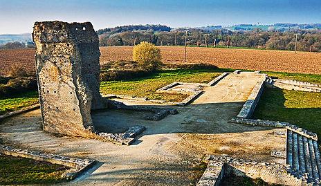 La Temple de Mars, Corseul, ancient Roman site with powerful earth energies