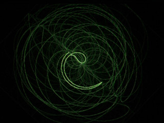 Reiki Visualised via an Oscilloscope