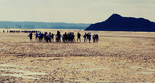 La Tombelaine, Bay of the Mont Saint Michel, sacred sites and ley lines