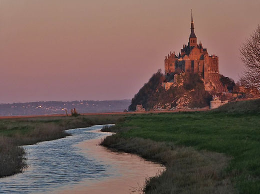 The Mont Saint Michel, France, sacred sites and ley alignments
