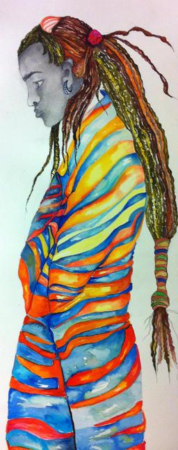 Maasai ceremonial Dancer