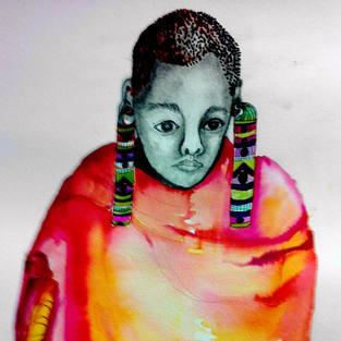 Girl of the Maasai Tribe