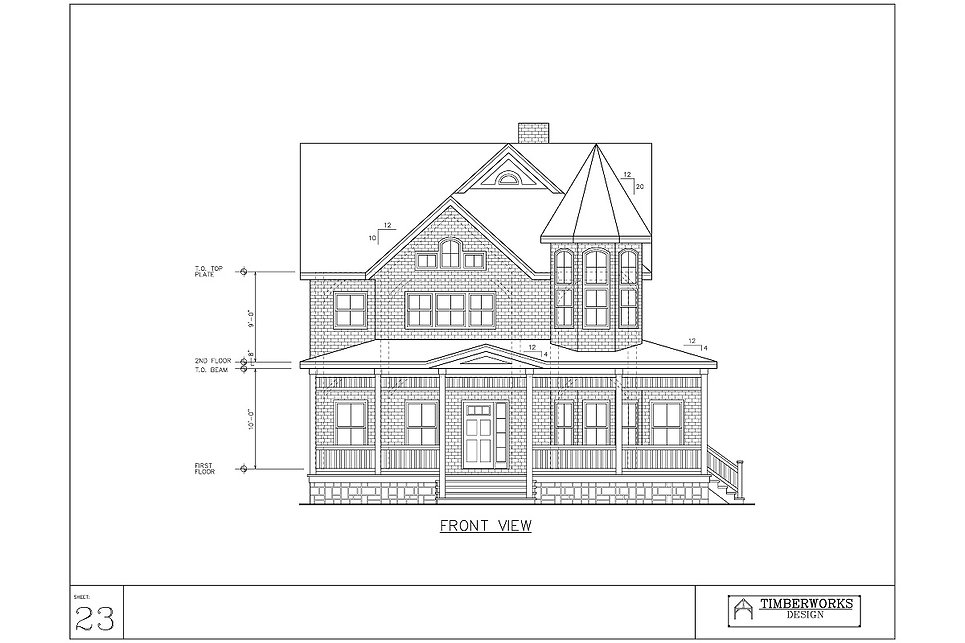 Timber Frame 32' x 28' colonial w 15' x 32' wing - 2755 sf - 3 bedrooms - 4 bath