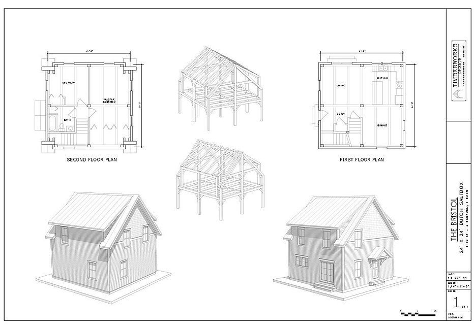 The bristol timber frame house plan for Home design agency bristol