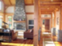 Custom Timber Frame Home Design