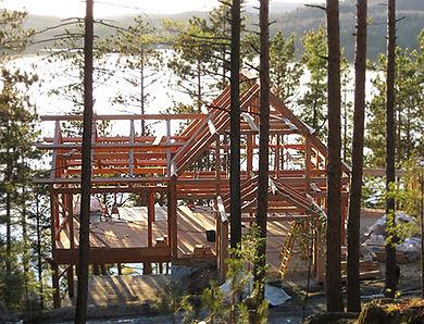 Timber Frame House Plans   Custom Timber Frame Home Design