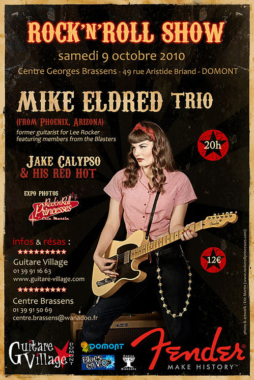 affiche concert 9 octobre 2010