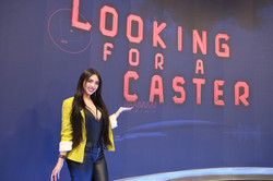 apresentando o Looking for a Caster no sportv
