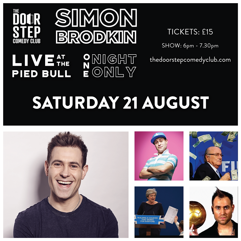 Simon Brodkin (First Show) Live at the Pied Bull