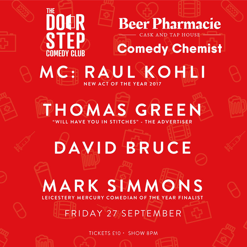 Comedy Chemist at the Beer Pharmacie