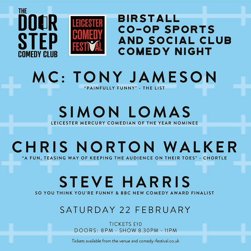 Birstall Leicester Comedy Festival Comedy Special