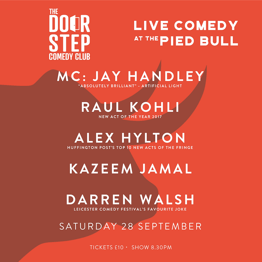 Live Comedy at the Pied Bull
