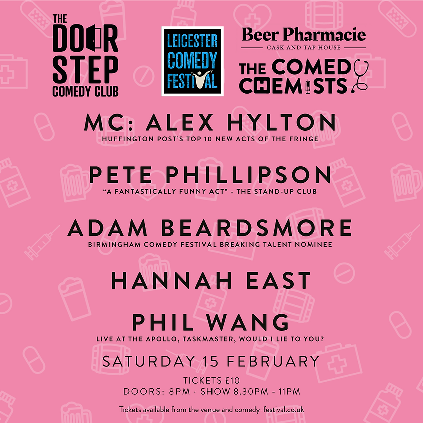 SOLD OUT: Beer Pharmacie Leicester Comedy Festival Special