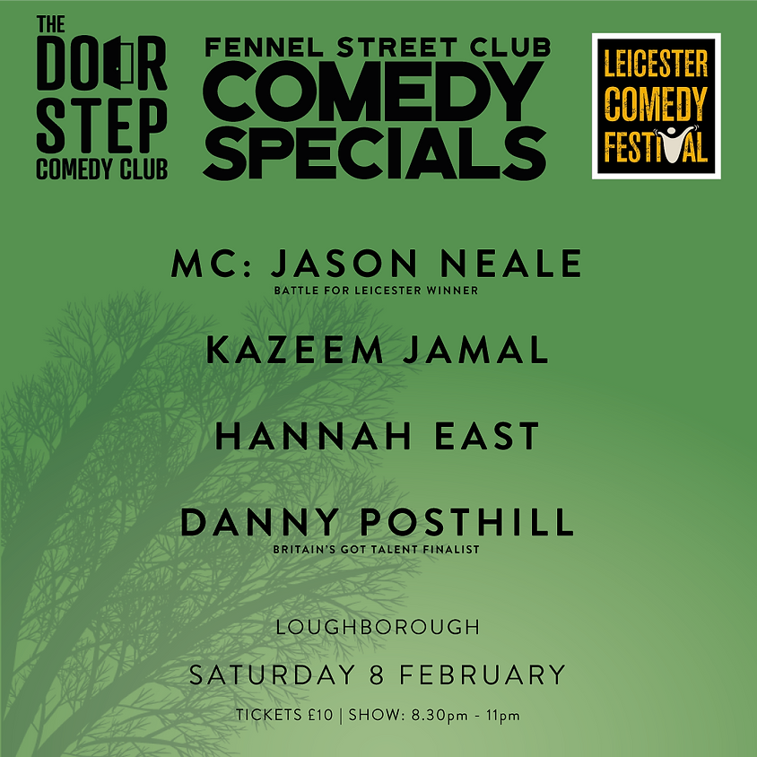 Fennell Street Club's Leicester Comedy Festival Comedy Special