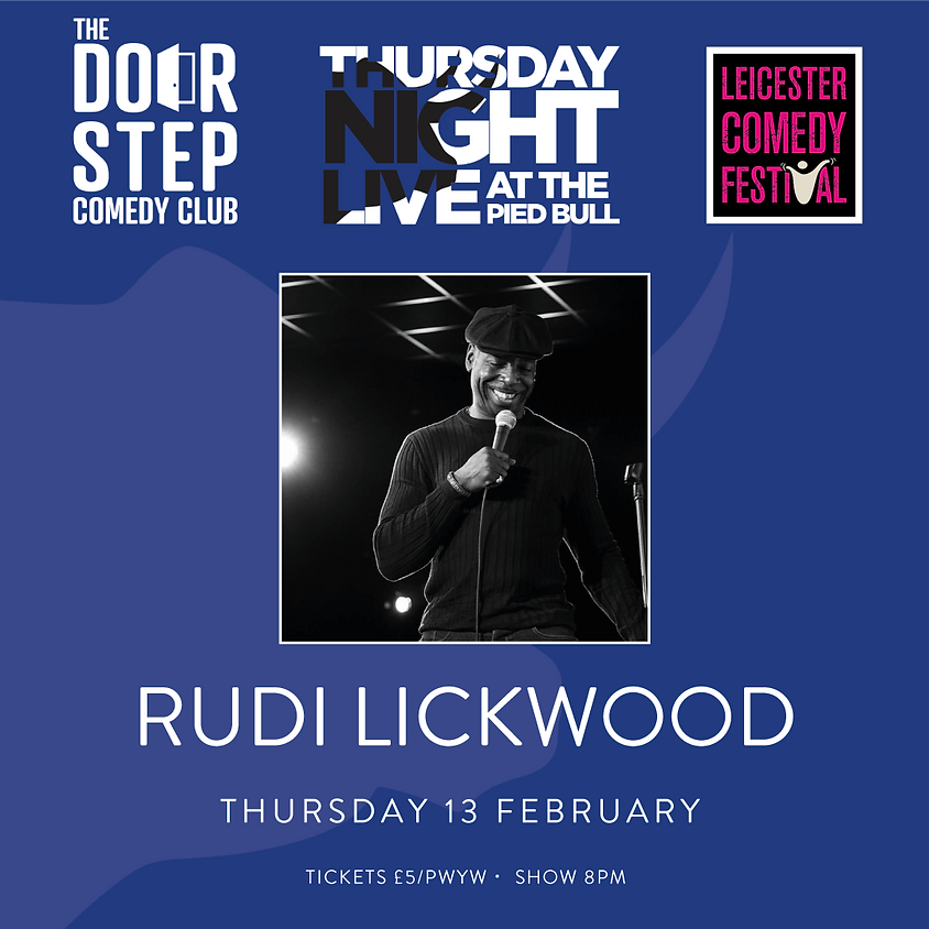 Thursday Night Live at the Pied Bull with Rudi Lickwood
