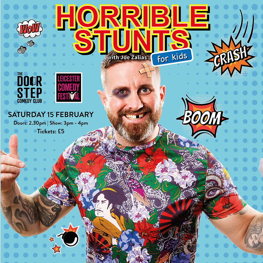 Horrible Stunts For Kids at the Pied Bull