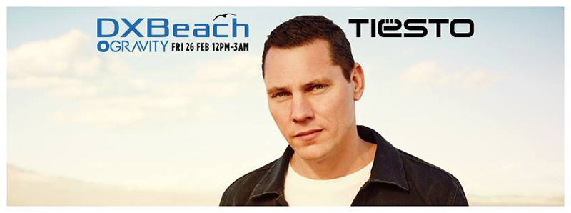 DXBeach with Tiësto