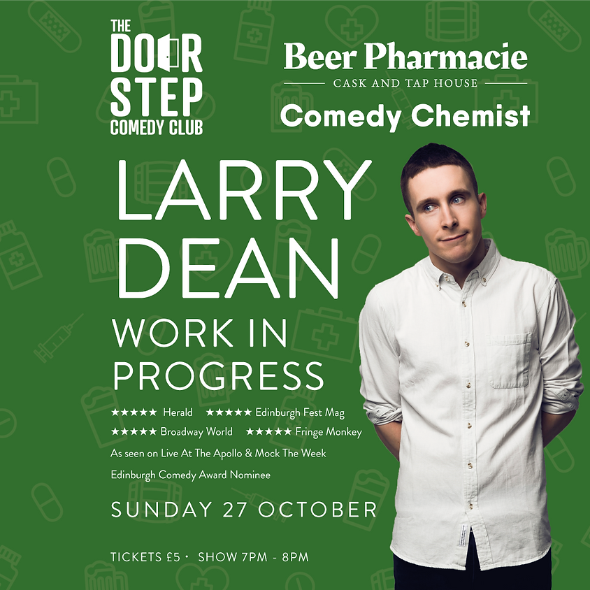 Larry Dean at the Beer Pharmacie