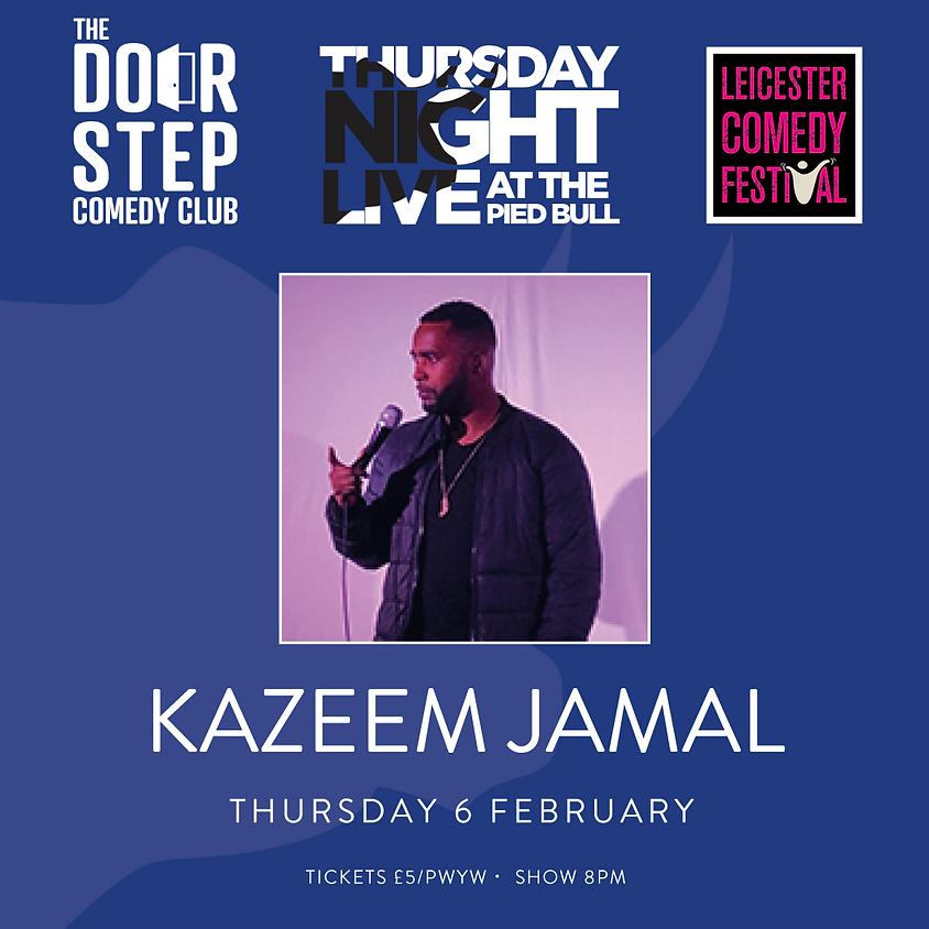 Thursday Night Live at the Pied Bull with Kazeem Jamal