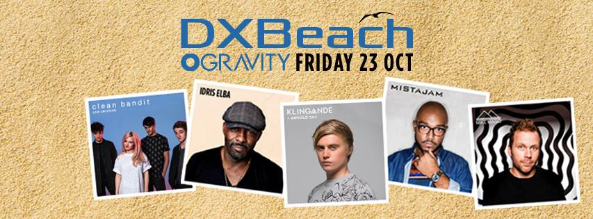 DXBeach with Idris Elba