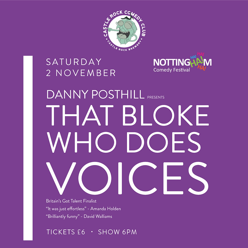 Danny Posthill: That Bloke Who Does Voices