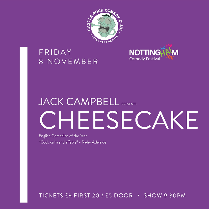 Jack Campbell: Cheesecake