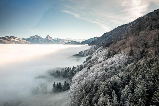Nebelgrenze Rigi