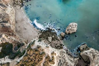 Drohne über den Algarve