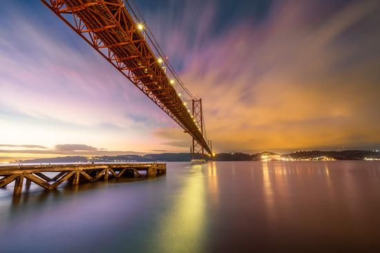Sonnenuafgang in Lissabon
