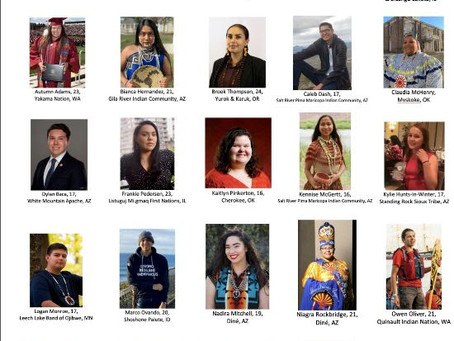 2020 25 Under 25 youth leaders in Indian Country Announced