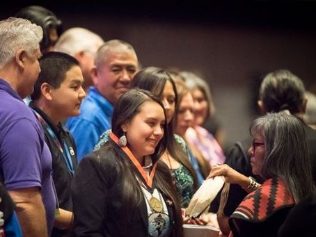 The American Indian Science & Engineering Society (AISES)  Sequoyah Fellowship Facebook Post