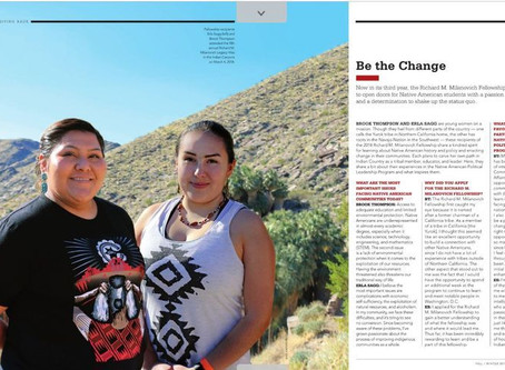 AGUA CALIENTE BAND OF CAHUILLA INDIANS MAGAZINE - ME YAH WHAE