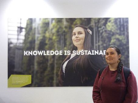 """2016 Portland State Advertisements: """"Let Knowledge Serve: Sustainable Design"""""""