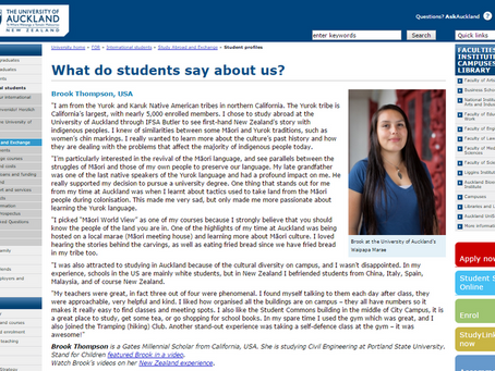 2015 University of Auckland - What do students say about us?