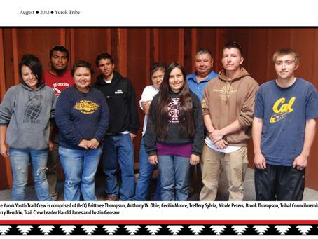2012 Yurok Tribe Newsletter: Youth Trail Crew