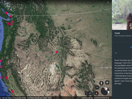 Google Earth Indigenous Languages Layer now Includes Yurok